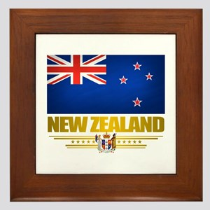 """New Zealand Pride"" Framed Tile"