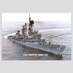 USS COONTZ Wall Art