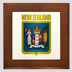 """New Zealand Gold"" Framed Tile"