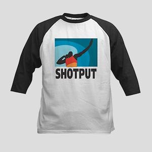 Shotput Kids Baseball Jersey