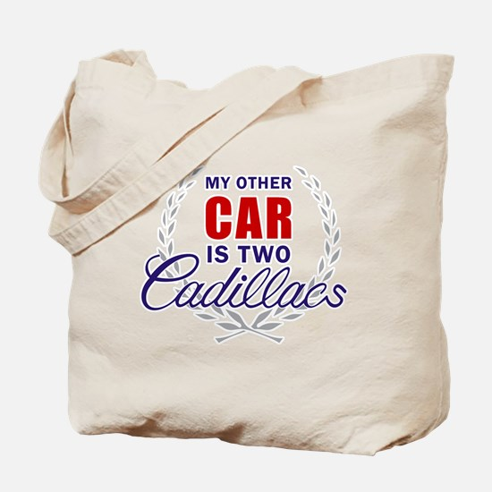 Cute My other car is a broom Tote Bag