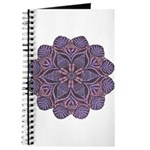 Purple stain glass inspired d Journal
