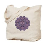 Purple stain glass inspired d Tote Bag
