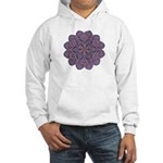 Purple stain glass inspired d Hooded Sweatshirt