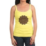 Purple stain glass inspired d Jr. Spaghetti Tank