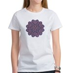 Purple stain glass inspired d Women's T-Shirt