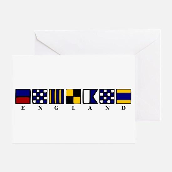 Nautical England Greeting Card
