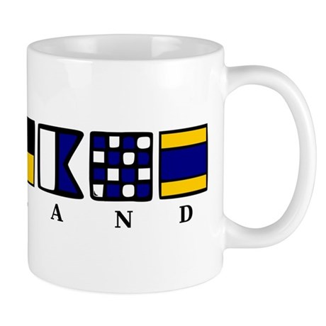 Nautical England Mug