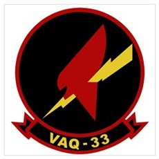 VAQ-33 Wall Art Poster