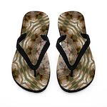 Sandy Shrimp Flip Flops
