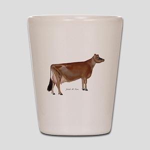 Jersey cow Shot Glass
