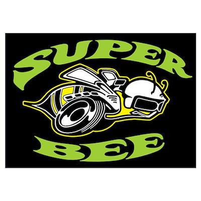 Super Beeee! Wall Art Poster