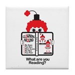 CLOWN Tile Coaster