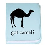 got camel? baby blanket