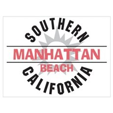 Manhattan Beach CA Wall Art Canvas Art