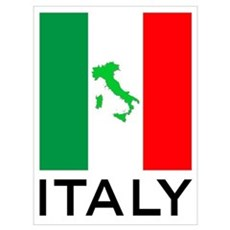 italy flag 01 Wall Art Canvas Art