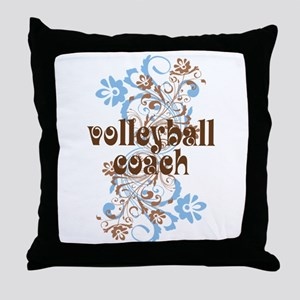 Volleyball Coach Pretty Gift Throw Pillow