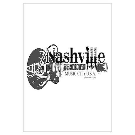 sc 1 st  CafePress & Nashville Wall Art Poster
