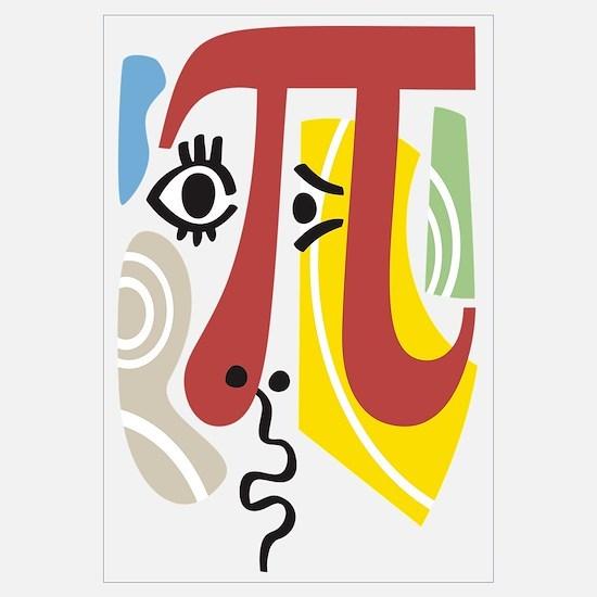 Pi Symbol Pi-casso Wall Art