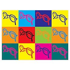 Optics Pop Art Wall Art Poster