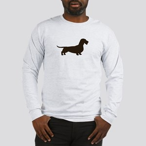 Wirehaired Dachshund Long Sleeve T-Shirt