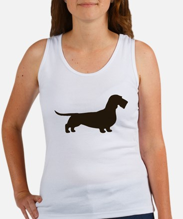 Wirehaired Dachshund Women's Tank Top