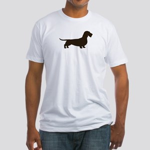 Wirehaired Dachshund Fitted T-Shirt