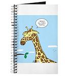 Giraffe Foraging Foibles Journal