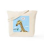 Giraffe Foraging Foibles Tote Bag