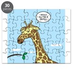 Giraffe Foraging Foibles Puzzle