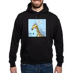 Giraffe Foraging Foibles Hoodie (dark)