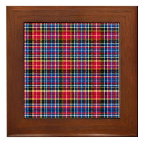 Tartan - Dalrymple Framed Tile