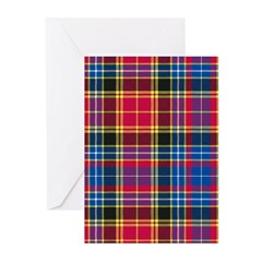 Tartan - Dalrymple Greeting Cards (Pk of 10)