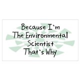 Environmental science Posters