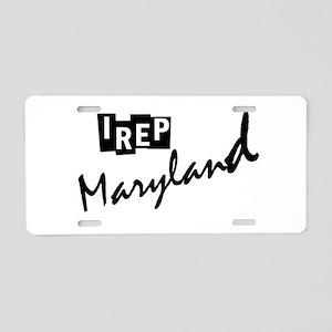 I rep Maryland Aluminum License Plate