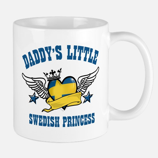 Daddy's Little Swedish Princess Mug