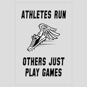 Athletes Run Wall Art