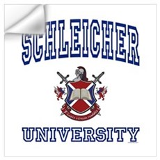 SCHLEICHER University Wall Art Wall Decal