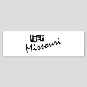 I rep Missouri Sticker (Bumper)