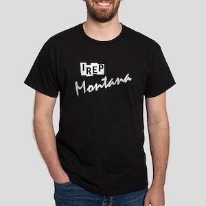 I rep Montana Dark T-Shirt