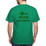 Irish Girlfriend Dark T-Shirt