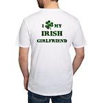 Irish Girlfriend Fitted T-Shirt