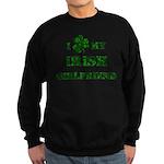 Irish Girlfriend Sweatshirt (dark)