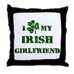 Irish Girlfriend Throw Pillow