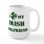 Irish Girlfriend 15 oz Ceramic Large Mug