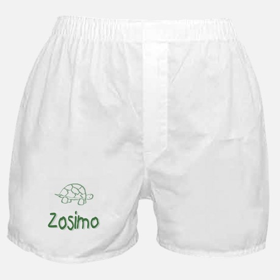 Green Turtle Zosimo Boxer Shorts