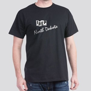 I rep North Dakota Dark T-Shirt