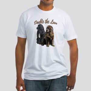 double Love Newfs Fitted T-Shirt