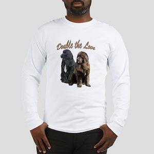 double Love Newfs Long Sleeve T-Shirt