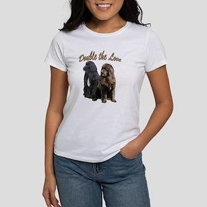 double Love Newfs Women's T-Shirt